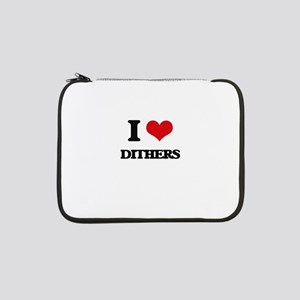 """I Love Dithers 13"""" Laptop Sleeve"""