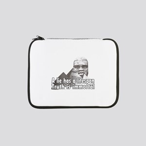 "Black History truth 13"" Laptop Sleeve"