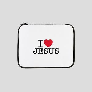 "I Love Jesus 13"" Laptop Sleeve"