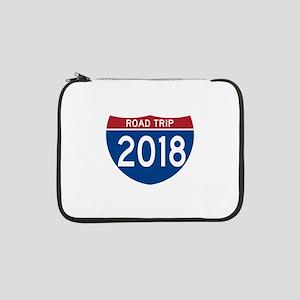 """Road Trip 2018 13"""" Laptop Sleeve"""