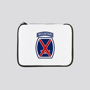 "10th Mountain Division 13"" Laptop Sleeve"