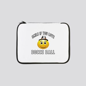 "Bocce Ball Cool Designs 13"" Laptop Sleeve"