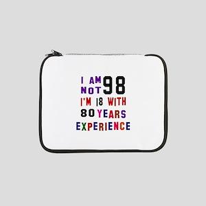 "98 Birthday Designs 13"" Laptop Sleeve"