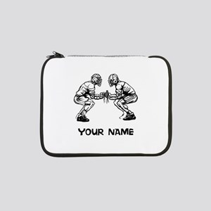 "Lacrosse Faceoff 13"" Laptop Sleeve"