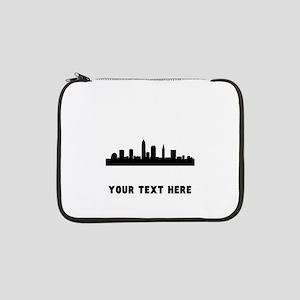 "Cleveland Cityscape Skyline (Custom) 13"" Laptop Sl"