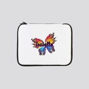 """Personalize Butterfly 13"""" Laptop Sleeve"""