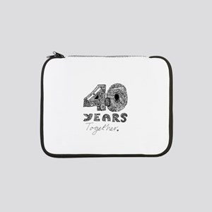 """40 years together 13"""" Laptop Sleeve"""