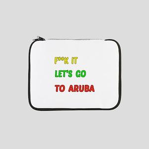 "Let's go to Aruba 13"" Laptop Sleeve"