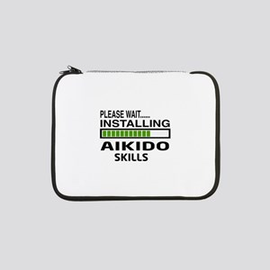 "Please wait, Installing Aikido s 13"" Laptop Sleeve"
