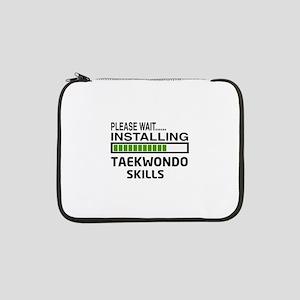"""Please wait, Installing Taekwond 13"""" Laptop Sleeve"""