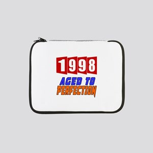 "1998 Aged To Perfection 13"" Laptop Sleeve"