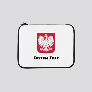 """Poland Coat Of Arms 13"""" Laptop Sleeve"""