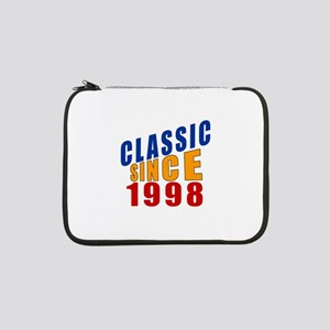 "Classic Since 1998 13"" Laptop Sleeve"