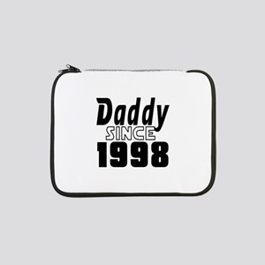 "Daddy Since 1998 13"" Laptop Sleeve"