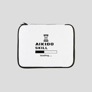 "Aikido Skill Loading..... 13"" Laptop Sleeve"