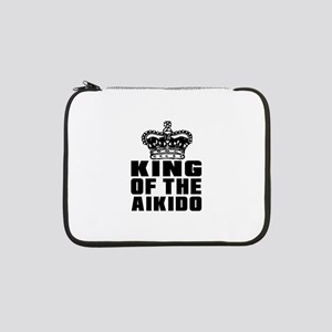 """King Of The Aikido 13"""" Laptop Sleeve"""