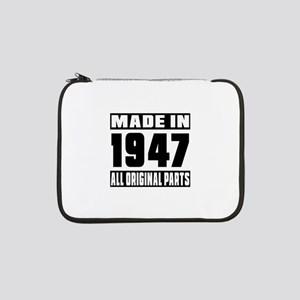 """Made In 1947 13"""" Laptop Sleeve"""