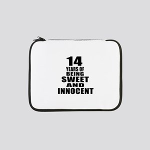 "14 Sweet And Innocent Birthday D 13"" Laptop Sleeve"