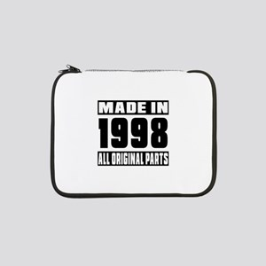 "Made In 1998 13"" Laptop Sleeve"