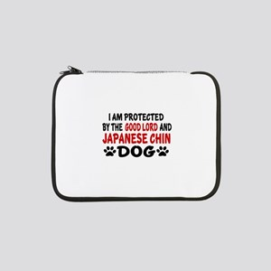 "Protected By Japanese chin 13"" Laptop Sleeve"
