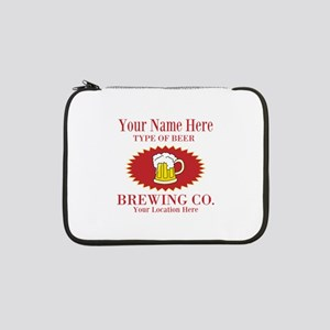 """Your Brewing Company 13"""" Laptop Sleeve"""