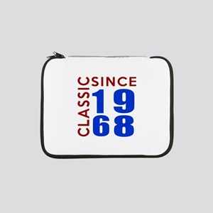 "Classic Since 1968 Birthday Desi 13"" Laptop Sleeve"