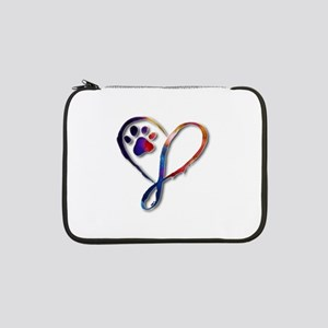 "Infinity Paw 13"" Laptop Sleeve"
