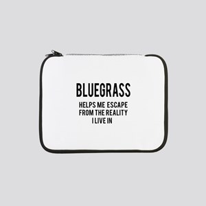 "Bluegrass Helps me escape from t 13"" Laptop Sleeve"