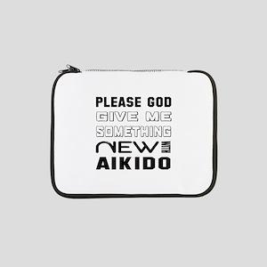 """Please God Give Me Something New 13"""" Laptop Sleeve"""