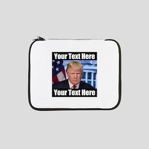 "President Donald Trump Meme 13"" Laptop Sleeve"