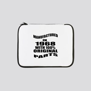 """Manufactured In 1968 13"""" Laptop Sleeve"""