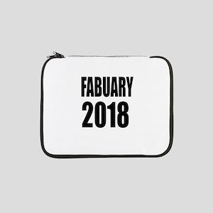 "February 2018 Birthday Designs 13"" Laptop Sleeve"