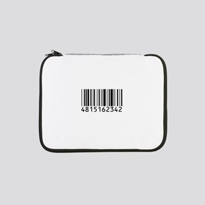 "barcode-w 13"" Laptop Sleeve"