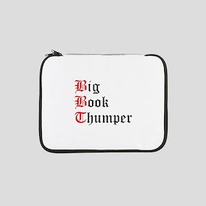 "big-book-thumper-2 13"" Laptop Sleeve"
