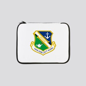"""143rd Airlift Wing 13"""" Laptop Sleeve"""