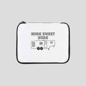 "Home Sweet Home Fifth Wheel 13"" Laptop Sleeve"