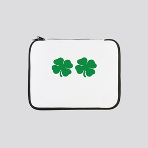 "shamrock boobs 13"" Laptop Sleeve"
