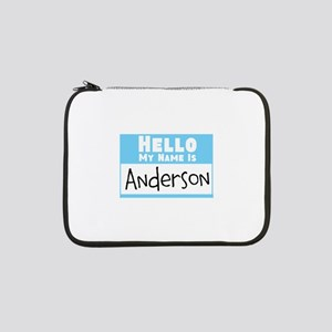 """Personalized Name Tag 13"""" Laptop Sleeve"""