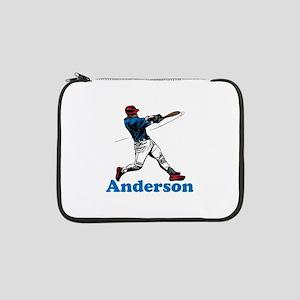 """Personalized Baseball 13"""" Laptop Sleeve"""