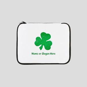 "Custom Irish St. Patricks Day 13"" Laptop Sleeve"