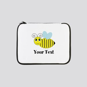 "Personalizable Honey Bee 13"" Laptop Sleeve"