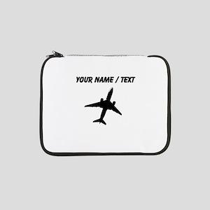 "Custom Airplane 13"" Laptop Sleeve"