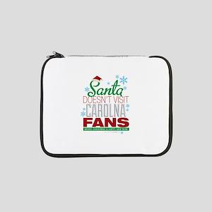"""Santa Doesen't Visit CAROLINA Fans 13"""" Laptop Slee"""