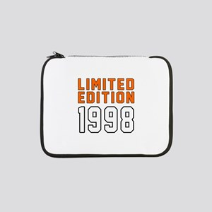 "Limited Edition 1998 13"" Laptop Sleeve"