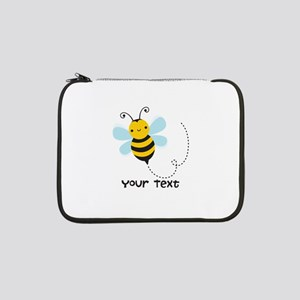 "Personalzied Kid's Honey Bee, Black & Yellow 13"" L"