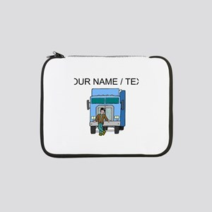 "Truck Driver (Custom) 13"" Laptop Sleeve"