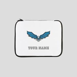 "Blue Eagle (Custom) 13"" Laptop Sleeve"
