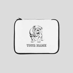 """Bulldog (Custom) 13"""" Laptop Sleeve"""