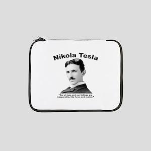 "Tesla: Virtues 13"" Laptop Sleeve"
