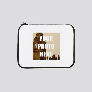"""Your Photo Here Personalize It! 13"""" Laptop Sleeve"""
